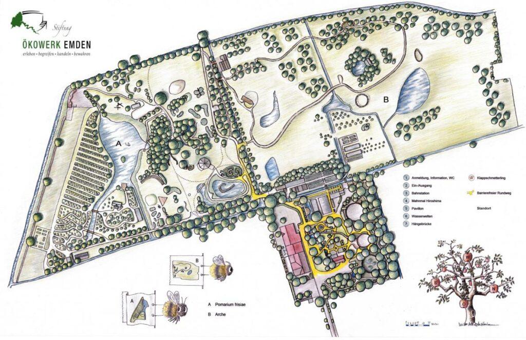 Geländeplan